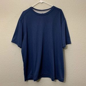 Woolrich Navy Blue Short Sleeve Crew Neck T Shirt